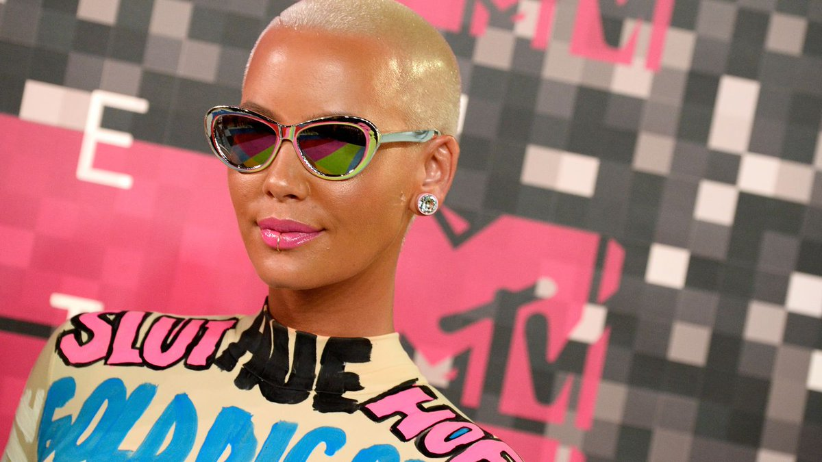 Amber Rose Is Unrecognizable In This TBT Cheesy Middle School Pic