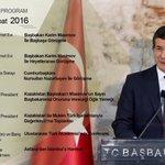 Genel Başkanımız ve Başbakanımız Prof. Dr. Ahmet Davutoğlunun bugünkü programı / 06.02.2016 https://t.co/sVIyaXRmYj