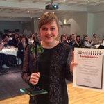 Journalistprisen for Årets Nyhet til Ina Gundersen @StvAftenblad! #Pressefesten https://t.co/RlvOi71cvl