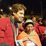 Ya en Guaranda para disfrutar del carnaval en representación de @MashiRafael. Gracias compañeros por esa bienvenida! https://t.co/KfGcy1dJyA
