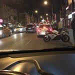 Chilling in my #SUV on Bloor St #Toronto in front of @LeesPalaceTO & its Feb 6th @bobmarley Event #motorcycle No ❄️ https://t.co/Vfs4O2VZqY