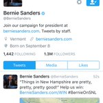 Bernie changed his profile pic to Larry David. #BernieOnSNL #FeelTheBern #BernYourEnthusiasm https://t.co/yubfxIvucv