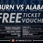 Its #BeatBama week! Get your tix early & get to the Arena early for our Fri meet! March ins start at 715! #WarEagle https://t.co/4Rr8XJ7OsG