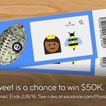 One RT could win you $50K. That's a lot of ???????? concert tickets! #EsuranceSweepstakes #SBHalftime #SB50 https://t.co/HQtBv2L1TX