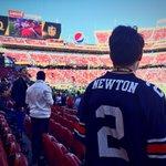 Vintage @CameronNewton #Auburn jersey in the house. #WarEagle #SB50 #KeepPounding https://t.co/23JzYeyBRD