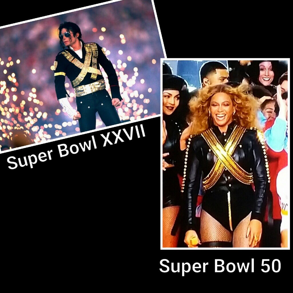 Way-ta-keep his memory alive, @beyonce. #MJ delivered the best #Halftime show...EVER!!  Loved ur performance. https://t.co/Ihf7ujcRfu