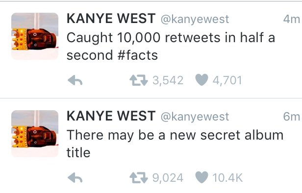 I'm gonna start using Kanye's mathematics to pay my bills https://t.co/Y7VT1Nn8T1