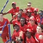 The Zimbabwe team celebrate making the #U19CWC Plate final for the 1st time with a #winning team selfie! https://t.co/GsdUCbkYJE
