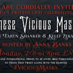 15 minute countdown to #ViciousMasks so make sure to DVR The Bachelor and come join us! https://t.co/d53Fh3WusX