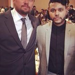 Leonardo DiCaprio & The Weeknd at The 88th Annual Academy Awards Nominee Luncheon. https://t.co/U4NSVzNB3e
