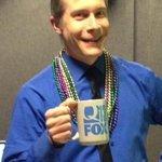 Mardi Gras Traffic with @AdamGehrke #Q13 whats in the cup??!!???????? https://t.co/nhLugPsg27