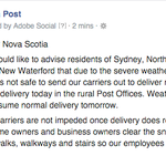 Service alert for #NovaScotia #NS #NSStorm https://t.co/ULosarRkvB