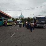 PRESENCIA POLICIAL en terminal terrestre. Ciudadanos regresan a sus domicilios #Chimborazo #RetornoSeguro https://t.co/hzwRQifj76