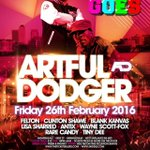 Artful Dodger Live at @Nightingaleclub on Friday 26th February #Birmingham #soitgoes https://t.co/myTgrMqoiT