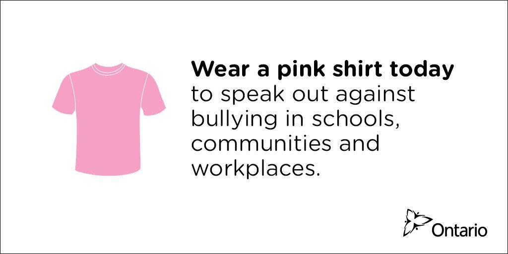 #PinkShirtDay https://t.co/BwSK9CgTF3