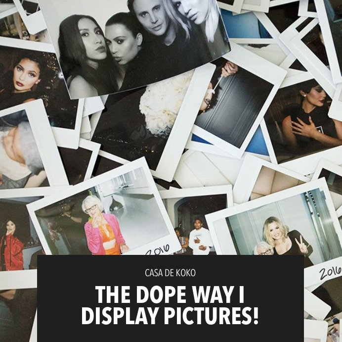 Time for some home décor inspo! The dopest way to display pics on khloewithak!!! https://t.co/qnzx1mwVWJ https://t.co/Wll7ZvFIDj