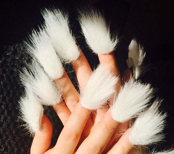 Fur Nails Is The Latest Nail Art Trend And Its Seriously Weird