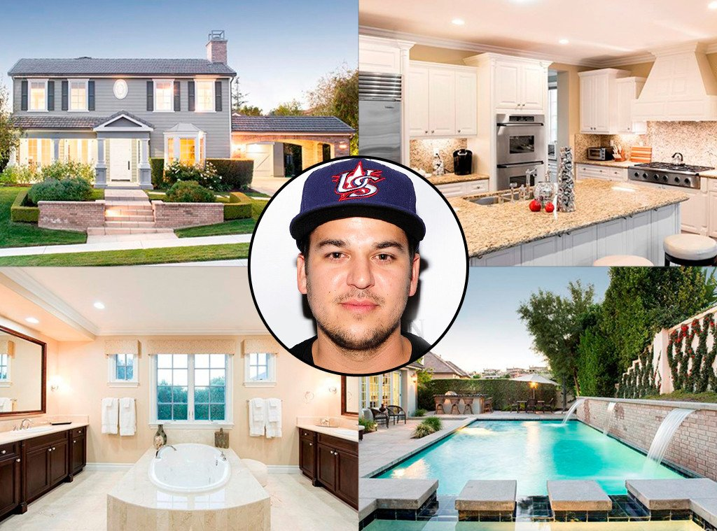 Rob Kardashian just snagged a $2.3 million bachelor pad with the help of mom Kris Jenner: