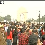 JNU Row: Delhi Police Detain ABVP workers Protesting Near India Gate in Delhi, Takes Them 2 Custody #ABVPFights4JNU https://t.co/UaQRxhxE6s