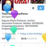 Happy Birthday Miss @tinapperez #VoteMaineFPP #KCA https://t.co/6YwbfH6NAi