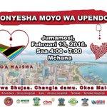 Onyesha ooyo wa upendo kwa wenye uhitaji zaidi katika kipindi hiki cha wapendanao #AFMradio 92.9 tunahamasija jamii https://t.co/gGwH7BspxR