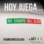 Hoy juega nuestro equipo del alma @oncecaldas y en #VarunaHotel decimos #YoCreo @CasaBlancaOC #YoSoyVarunaHotel https://t.co/ffTYSk8N1j