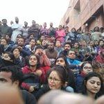 Massive #StandWithJNU meeting JNU. JNU spirit will prevail against Modi Govt defamation, bullying! https://t.co/QsKoGVgqj3
