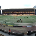 Were in position at Molineux, ready for this afternoons @SkyBetChamp clash between Wolves and @pnefc. #WWFCvPNEFC https://t.co/YCsHUiPDCf