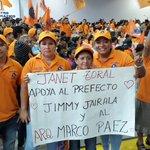 La familia naranja del #Ecuador participa d esta fiesta por la democracia #EcuadorEs1 @cendemocratico @jimmyjairala https://t.co/f70xBmNcvr