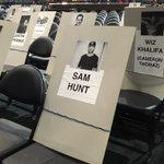 Weve got eyes on Best New Artist nominee @SamHuntMusic! #GRAMMYs https://t.co/kPYUt9obzo
