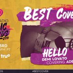 Who else fell in love with @ddlovatos cover of #Hello this year? RT to vote for #BestCover at our #iHeartAwards! https://t.co/rWiW0D5TgZ