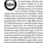@_aliyalcin_ :Türkiyenin en fazla üye kaydeden sendikasıyız https://t.co/SQc1AnilPf