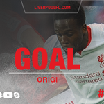 63: Origi latches onto Coutinhos through-ball and calmly slots the ball home to make it 4-0 to #LFC https://t.co/zIIfogiyDl