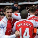 How did you celebrate Welbzs winner? Heres how @aaronramsey reacted #AFCvLCFC https://t.co/S3ZAbkXKy8