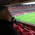 Great game at Emirates Stadium. @Arsenal vs @LCFC Leicester #premierleague https://t.co/bRPC4eApVb