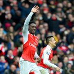 What a finish at the Emirates! Danny Welbecks stoppage time goal propels Arsenal past 10-man Leicester City, 2-1. https://t.co/5XUMQXg3jH