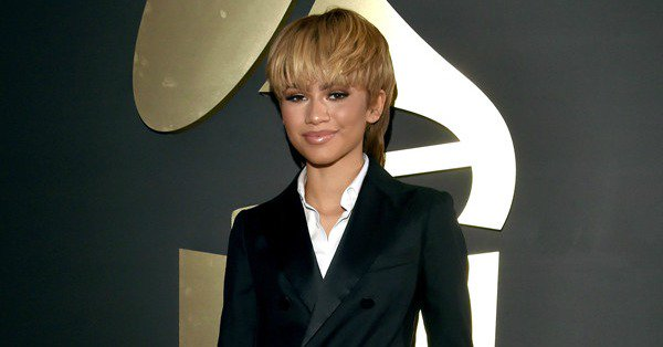 Zendaya dishes on her recent collaboration with Chris Brown on the GRAMMYs ERedCarpet: