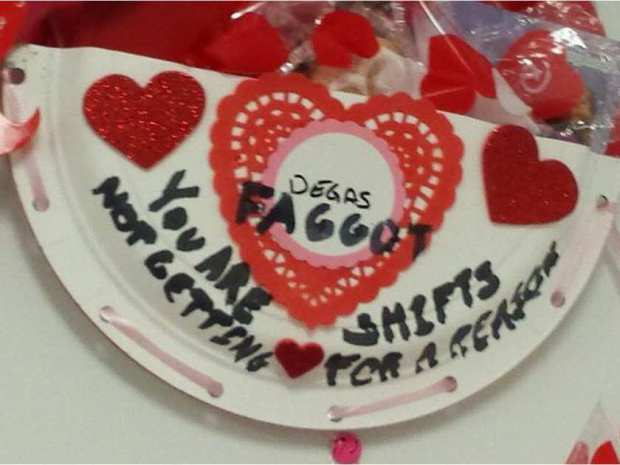 'It is a hate crime': Party store employee files police complaint over homophobic Valentine
