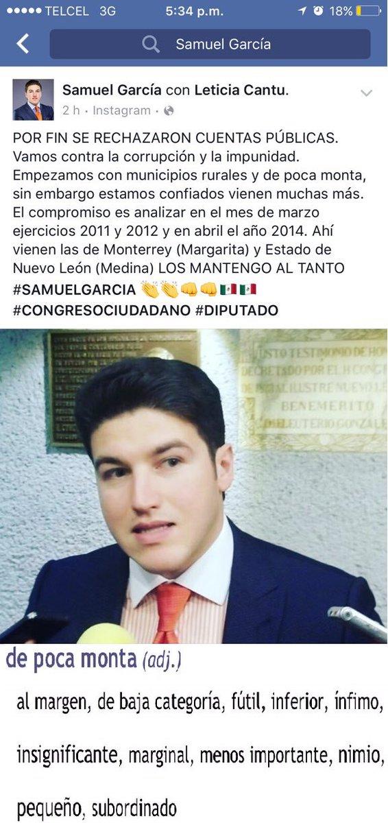 resulta, si eres de fuera del área metropolitana, eres de #DePocaMonta @samuel_garcias tienes piedras en la cabeza? https://t.co/EjROTssZnN