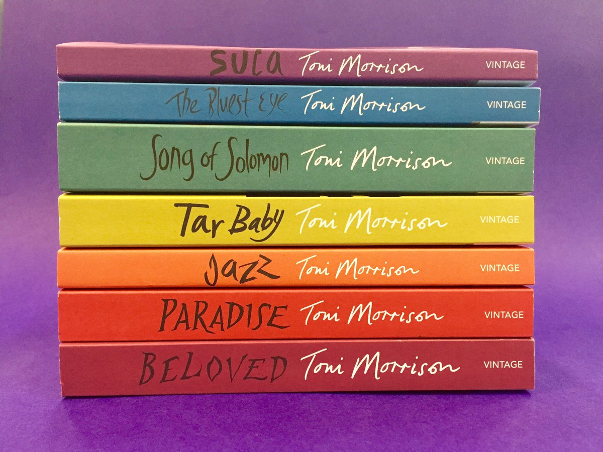 For a chance to win this beautiful Toni Morrison birthday bundle simply RT and share some Morrison Love. https://t.co/CwWXWefD8u
