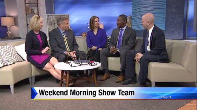 Meet the new weekend morning show team! @wjxtashleym ...