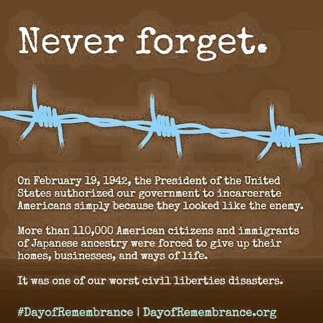 Never forget.  #DayOfRemembrance  #EO9066 https://t.co/MCK0xD3bHu