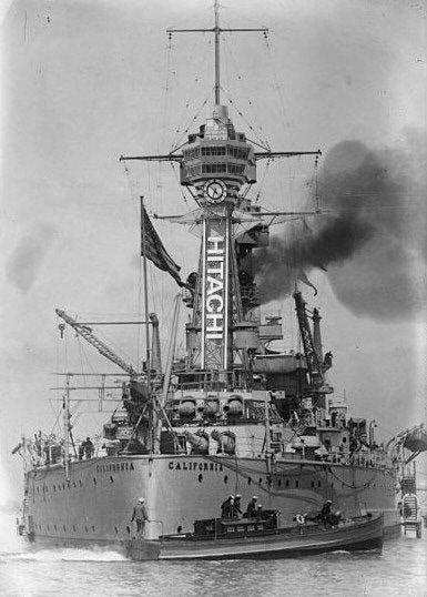 たしかに戦艦カリフォルニアに通天閣を移植しても違和感を感じない>RT https://t.co/ygce1GW363