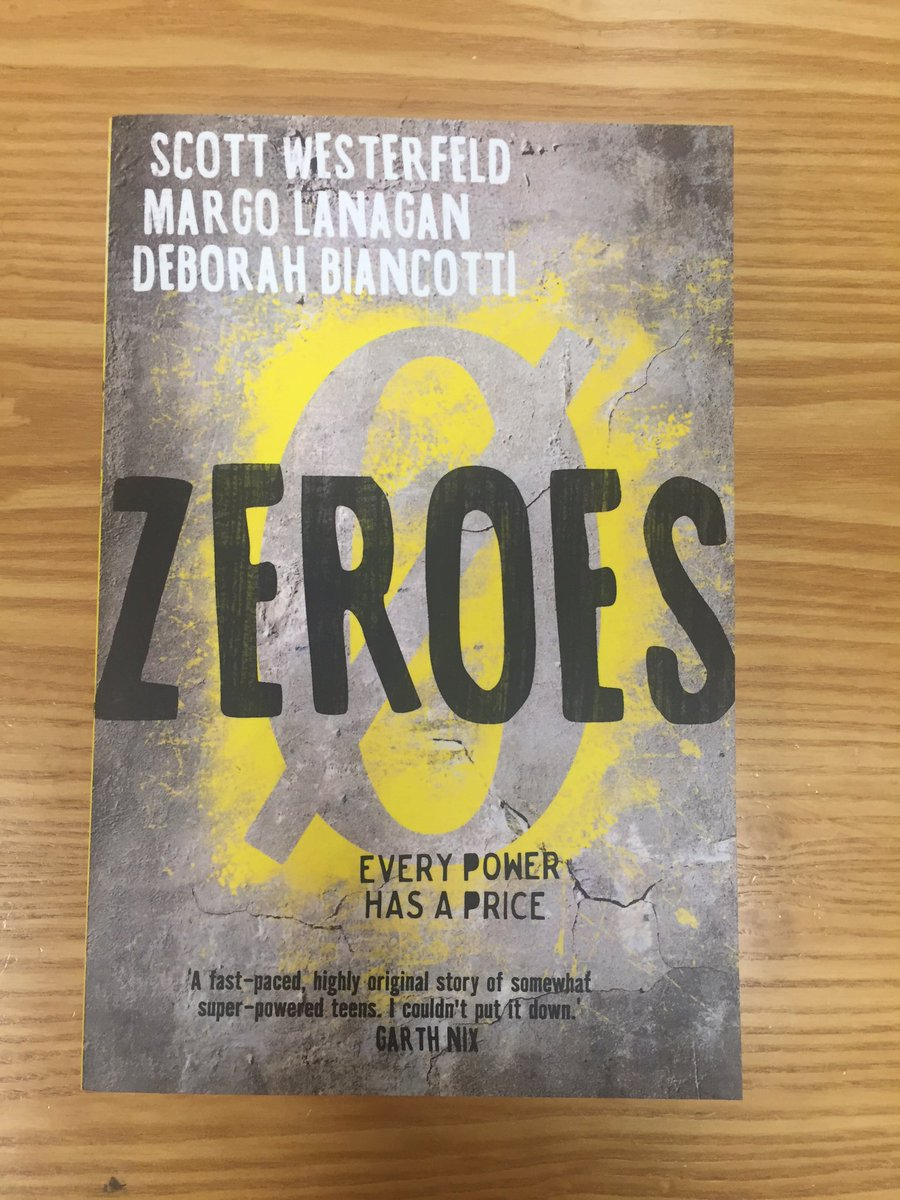 YA fiction, you say? Sure! RT this before midnight AEDT tonight to enter to win #Zeroes