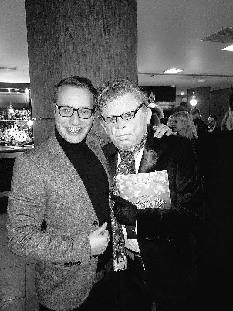 Lovely to meet @westendproducer last night, this guy inspired my @CIAMLiverpool presentation 2 years ago! https://t.co/m7xu86FT6u