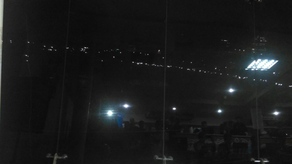 #AsiaCupT20Final : Lights Out In Sher E Bangla Stadium, Lights Have Gone