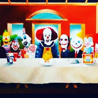 Clowns have to eat 2! ????????????????????????. Constantly................ https://t.co/7V2btWwVpH