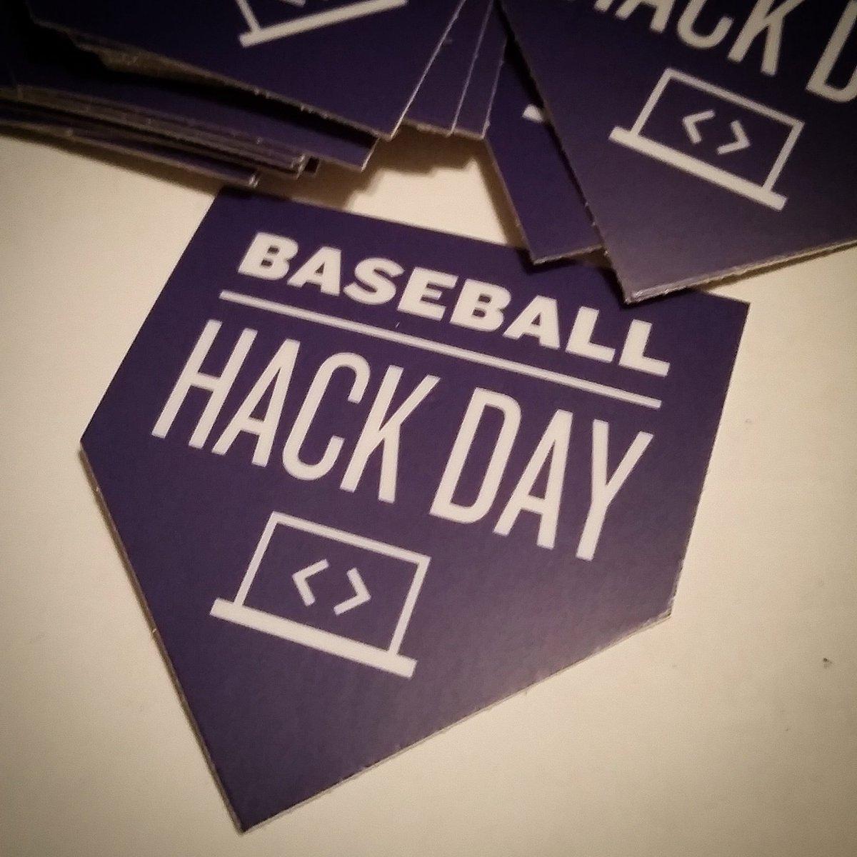 2016 @BaseballHackDay sticker is here! Thanks Jen and Adrian of @stickermule ! #hackbaseball https://t.co/MBsRDbft6F
