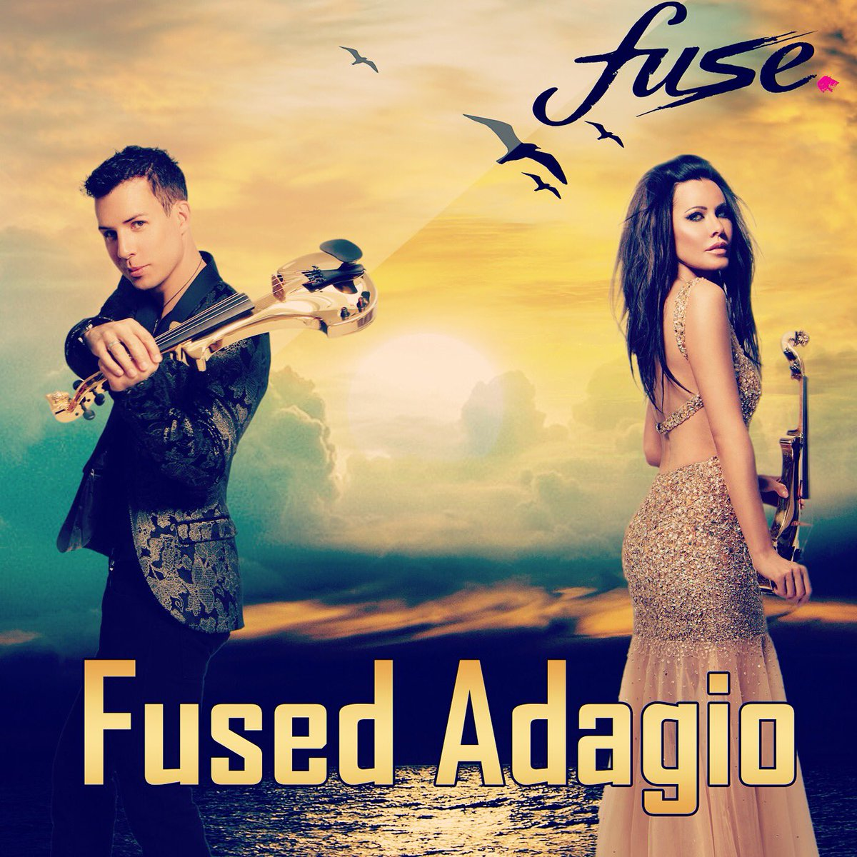 New music arriving today Fused Adagio on CD Baby