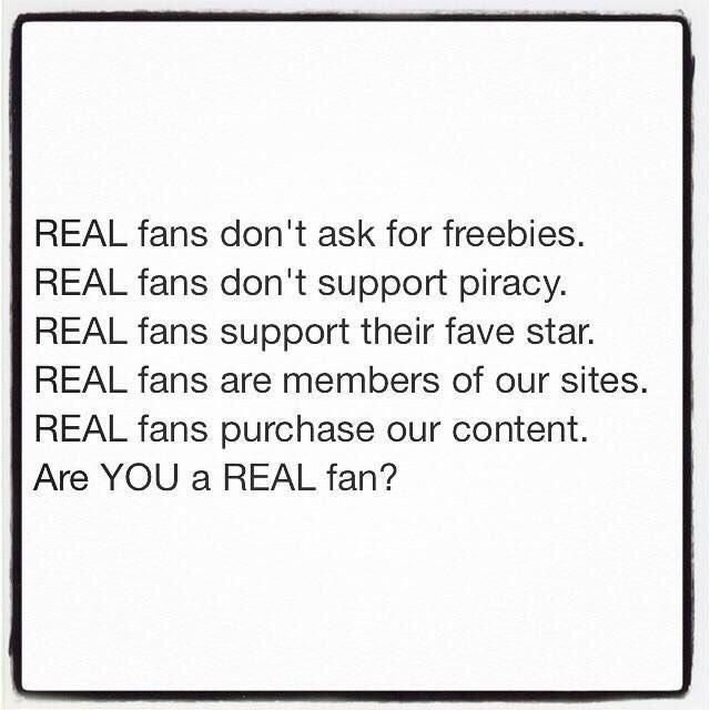 RT @ArielRebel: Are you a real fan? https://t.co/c928HuRrDN